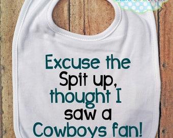 Excuse the spit up Bib - Philadelphia Eagles - NFL Football - Baby Fan Gear
