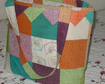Handcrafted Quilted Tote/Purse