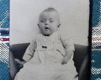 Tintype The Baby Wore White