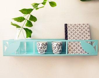 Wall shelving Scandinavian style. Bathroom storage. Kitchen storage. Kids bookcase. Book shelf. Bedroom shelf. Shelf for plants. Bookcase.