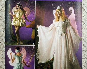 Simplicity 3675, Misses' Fairy Costume Sewing Pattern, Costume Pattern, Misses' Size 14, 16, 18, 20, New and Uncut