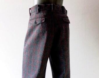 "Woolwich Malone Wool Hunting Pants - Like New  - Size 36"" Waist X 31"" Length - Woolen Men's Winter Pant -"