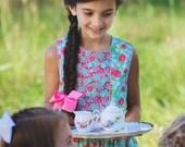 PDF The Savannah Dress - Girls PDF Pattern - Size 6 month - Size 10