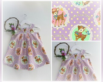 Dress, play date pinny sz 12~18 mths