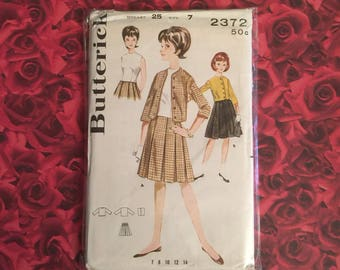 50's Vintage Butterick Sewing Pattern