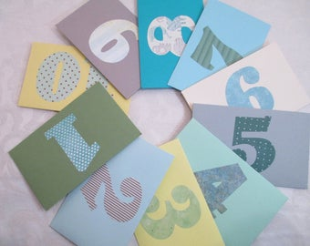 18 Envelopes- First Birthday Letters- Time Capsule- 18th. Birthday - 1st. Birthday