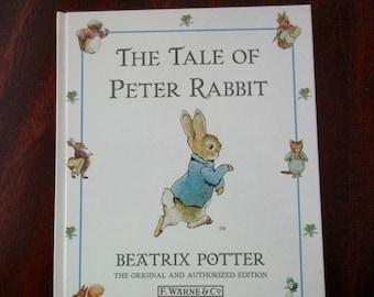 Beatrix Potter book - The Tale of Peter Rabbit, watercolors, mint condition