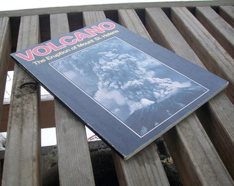 Vintage book Volcano The Eruption of Mount St. Helens The Daily News The Journal American 1980