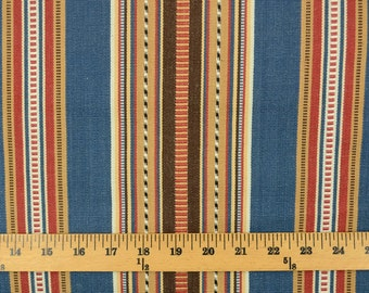 D2485 Navajo 9 Denim Stripe Fabric