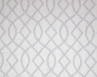 Nemo Misty Grey Matelasse Fabric