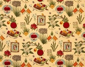 Viva Frida - Alexander Henry Scenes 1 Yard Fabric