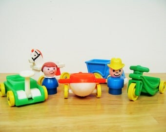 Vintage Fisher Price Little Riders