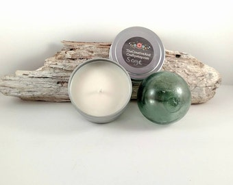 Sage Soy Candle, 4oz Soy Wax Candle, Hand Poured Candle, Ready To Ship, Herb Candle Sage, Clean And Fresh, Positive Energy, Natural Gift