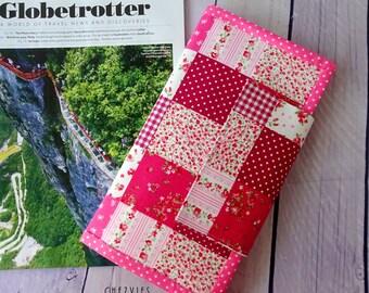Pink travel  wallets passport holder, patchwork travel document holder, travel wallet passport organizer, passport cover for 2