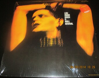 Lou Reed Mint Vinyl - Rock and Roll Animal - Original Pressing - Vintage Lp Mint Condition