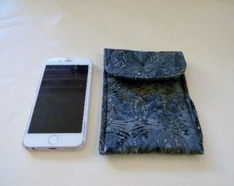 Gray Batik Cell Phone/iPhone Case