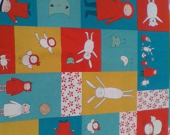Meet the Gang by Marisa and Creative Thursday for Andover Fabrics - 1/2 yard