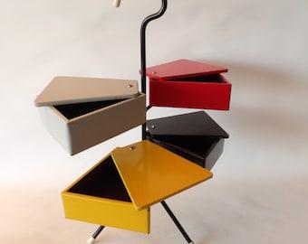 1950s Sewing Stand Design Joos Teders Metalux attr. Cees Braakman Pastoe