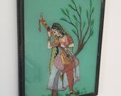 Beautiful glass painting from India