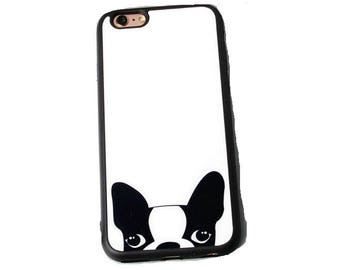 iPhone 6 case iphone 6S case iphone 6 plus Apple iphone 6S plus case cover skin dog puppy peep funny kitty pet free clip on neck chain gift