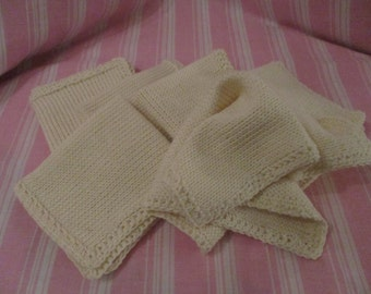 100% Organic Cotton Washcloths
