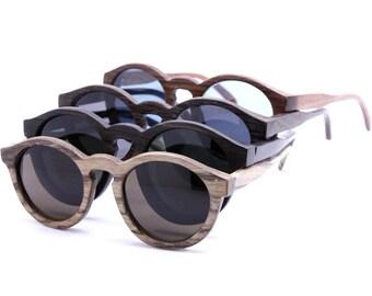 THANKS  handmade round vintage 1960' s  sunglasses