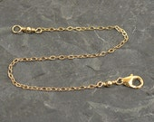 Gold Plated Necklace Extenders - Choose Your Length