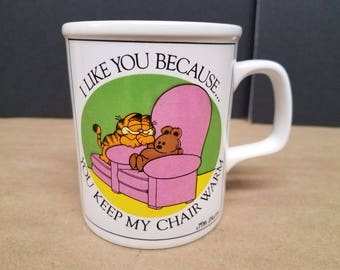 Vintage Garfield Mugs