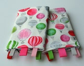 Reversible Baby Carrier Suck/Drool Pads - Love Floats (Fits Tula, Lillebaby, Ergo, Beco, MJ, Mei Tais, and other SSCs) - Ready to Ship