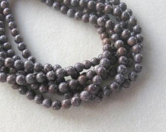 Chocolate Jasper  Round  Gemstone Beads Full Strand 8mm