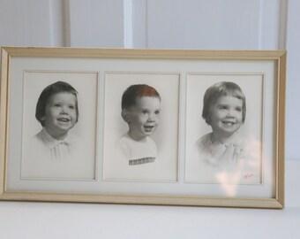 Vintage White Frame Photo frame