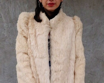 Vtg White Rabbit Super Soft Jacket