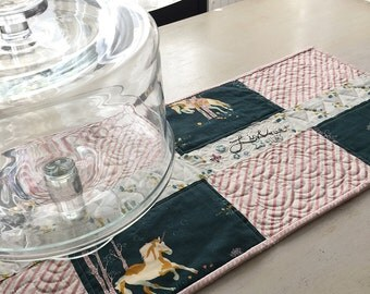 Unicorn Table Runner Live Your Story - Free Shipping