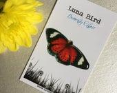Butterfly Effect Brooch, Red (RB5) by Luna Bird for the 1200 Butterfly Wall at Butterfly Effect Exhibition