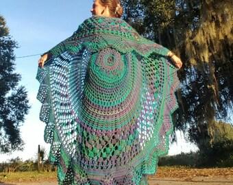 Custom Order Bohemian Vest ~ Hand Crocheted