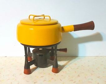 DANSK KOBENSTYLE Fondue Set Rare Full Set With Warmer