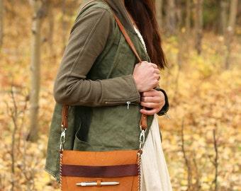 Emerson Medium Journal Bag Homemade in Aspen in Honey Ginger