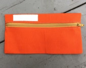 Ready to ship// ONE Cash envelope Dave Ramsey or Zipper Pouch  Coin pouch