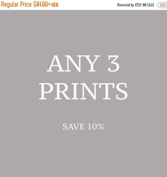 SALE Any Three Prints, Photography, Gallery Wall, Discounted, Fine Art Photography Set, 8x10, 11x14, 16x20 , 20x24