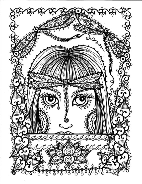 butterfly fairy coloring pages - butterfly fairy instant download adult coloring page fantasy