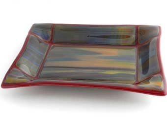 Glass Tray,  Serving Tray, Keys Tray, Odds and Ends Tray