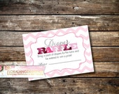 Digital Printable Oh Baby Baby! Baby Shower Diaper Raffle Cards