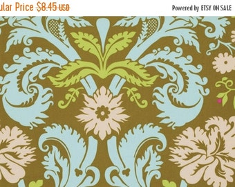 Christmas Sale Amy Butler Fabric - Acanthus in Olive from the Belle Collection