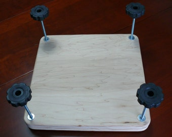 "14.5"" x 14.5"" Flat Plate Book Press, Birch / Maple, Un-Finished, Item 211-2"