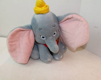 Dumbo the Elephant plush stuffed animal toy Disney circus