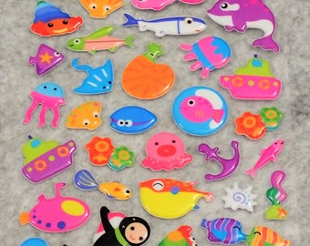 Mixed Under Water World Stickers