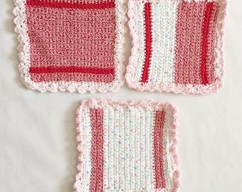 Candy Cute Wash cloths