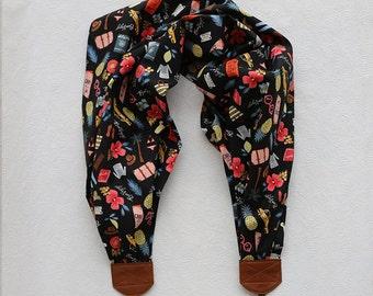 scarf camera strap bon voyage - BCSCS072