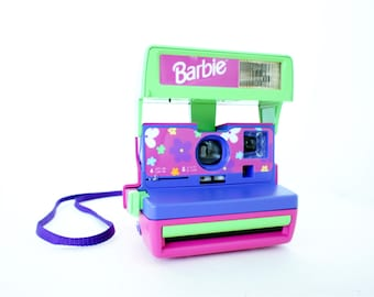 Rare Barbie Polaroid Camera OneStep Close Up - Film Tested Working