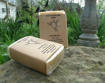 Handmade Bay Rum Goats Milk Soap